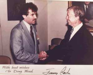 Jimmy Carter and Doug Wead, 1979.