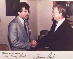 Jimmy Carter and Doug Wead, 1979.