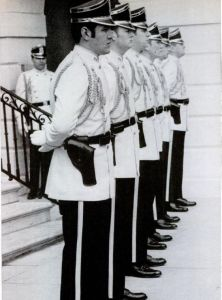 Secret Service uniforms at the Nixon White House.
