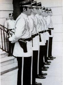 Secret Service uniforms at the Nixon White House.