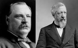Grove Cleveland and Charles Blaine, the misogynist vs. the corrupt politician.