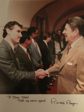 Doug Wead and Ronald Reagan