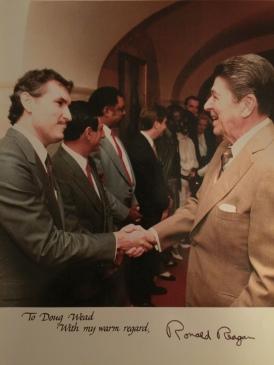 Doug Wead and Ronald Reagan