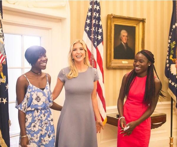 Ivanka Trump's humanitarian work, chibok girls, joy bishara, lydia pogu